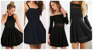 diferentes tipos de vestidos