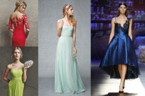 diferentes vestidos para cada evento