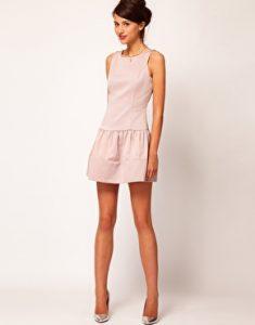 vestido cintura baja