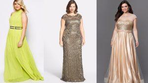vestidos de gala talla grande