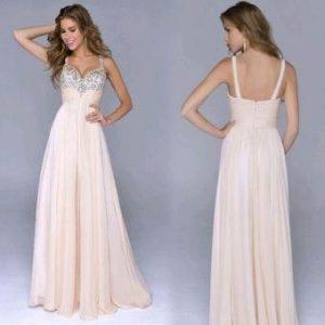 comodidad en vestido de noche