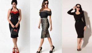 45c38c0b82 ▷ Vestidos pin-up ¡Elige el mejor vestido Aquí!