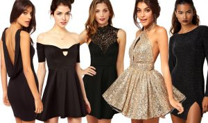 mini vestidos para fin de año
