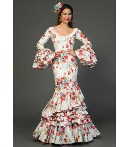modelo de vestido sevillana