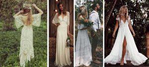 novias al estilo hippie
