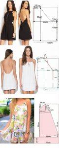 patrones de vestidos casuales