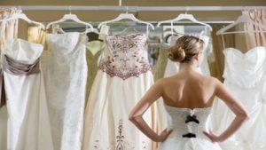 probando vestido de novia