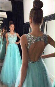 prueba de vestido de gala