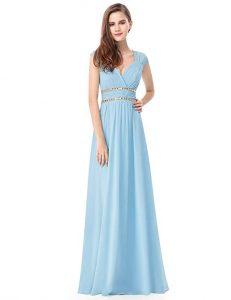 vestido azul bebe