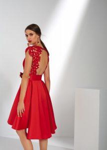 vestido de ceremonia corto