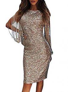 vestido corto de noche