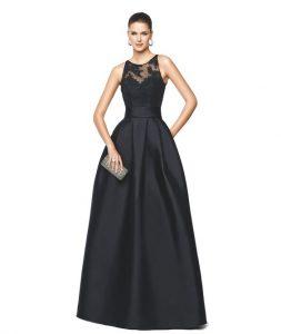 vestido de ceremonia largo