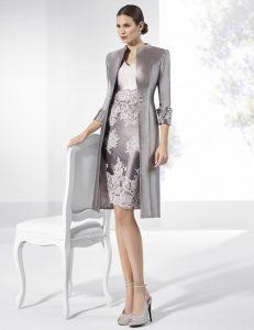 vestido de coctel invierno