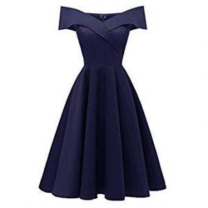vestido de coctel corte a