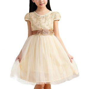 vestido corto de comunion