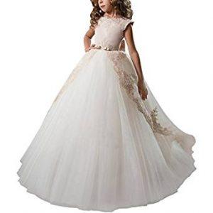 vestido elegante de comunion