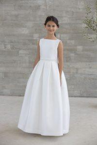 vestido de comunion recto