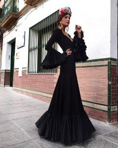 vestido de flamenca moderno