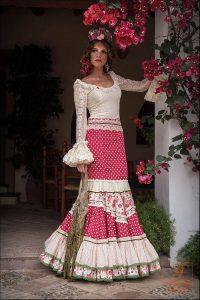 vestido de gitana moderno