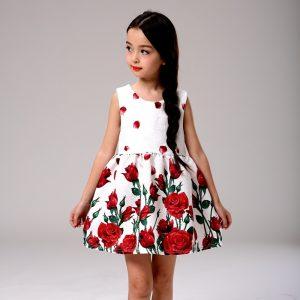 vestido de niña en corte a