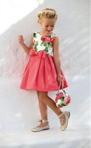 vestido de niña en tendencia