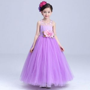 vestido largos de niña