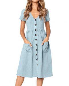 vestidos de verano con bolsillos