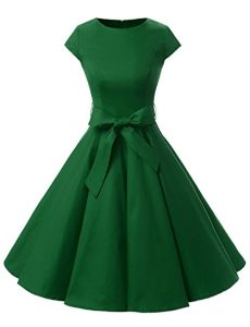 vestido elegante con lazo