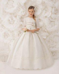 vestido grande de comunion