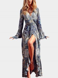 vestido hippie largo