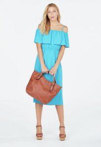 vestido ibicenco colorido