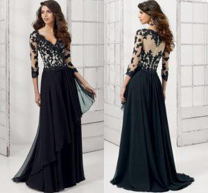vestido largo de noche
