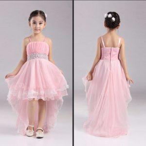 vestido largo para niña