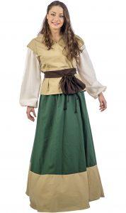 traje medieval