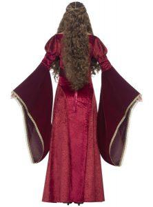 vestido medieval con detalles