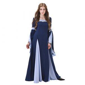 dama vestido medieval