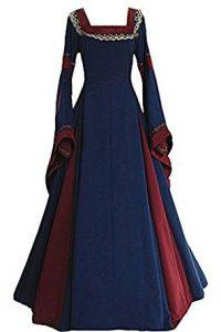 vestido medieval elegante