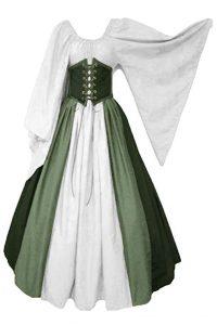 vestido medieval sencillo