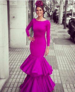vestido moderno de sevillana