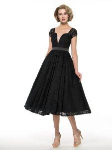 vestido vintage negro