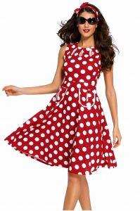 vestido pin-up de mujer