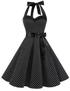 vestidos pin-up negro