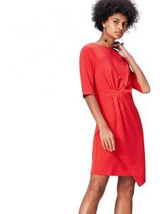 vestido rojo holgado