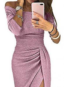 vestido rosa de fin de año