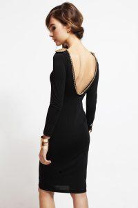vestido sencillo para noche vieja
