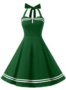 vestidos vintage verde