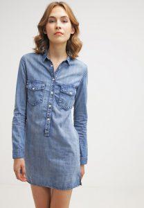 vestido camisero de jean comodo