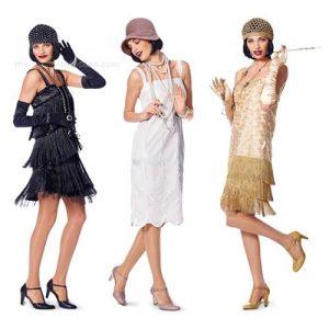 vestido de los años 20