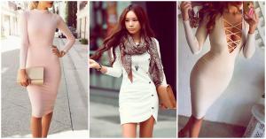 vestidos de manga larga