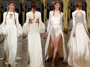 vestidos de novia en pasarela